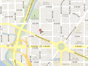 Map of TJ's Location